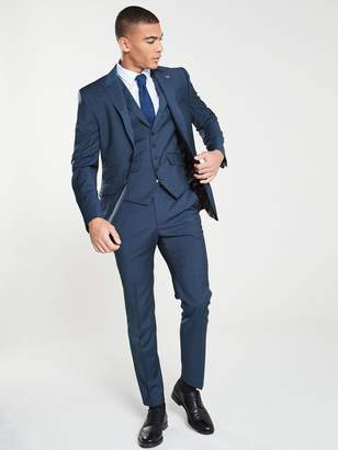 Ted Baker Sterling Semi Plain Jacket - Dark Blue