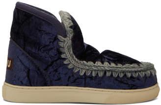 Mou Blue Eskimo Sneaker Boots