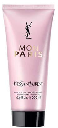 Saint Laurent Mon Paris Shower Oil, 6.6 oz.