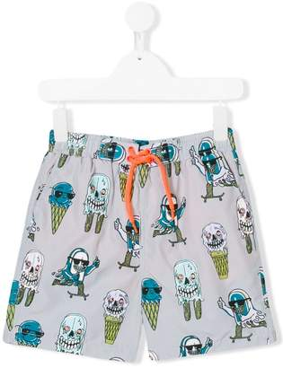 Stella McCartney ice cream print swim shorts