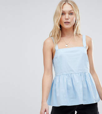 Asos Tall TALL Smock Cami in Cotton