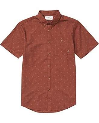 Billabong Men's All Day Jacquard Short Woven Shirt