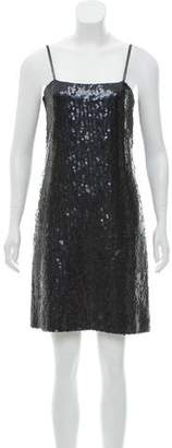 Chanel Sleeveless Embellished Dress