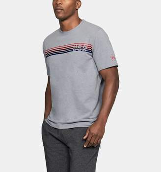 Under Armour Men's UA Freedom Chest Lines T-Shirt