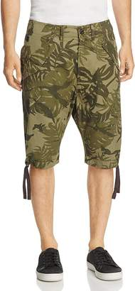 G-Star RAW Rovic Palm Print Regular Fit Shorts $110 thestylecure.com