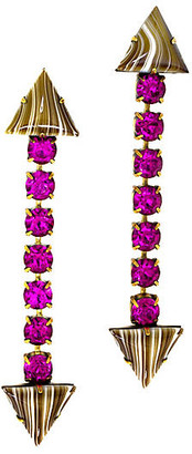 One Kings Lane Liene Drop Earrings