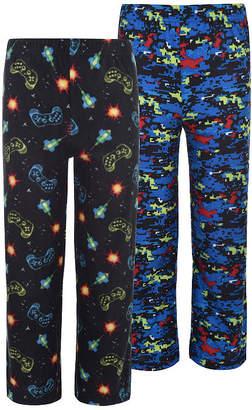 Hanes Boys 2 Pack Print Sleep Pants Boys Knit Pajama Pants