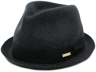 DSQUARED2 logo fedora hat