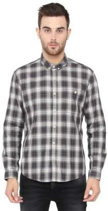 Voi Jeans New Mens Designer Slim Fit Shirt Check VOSH1040