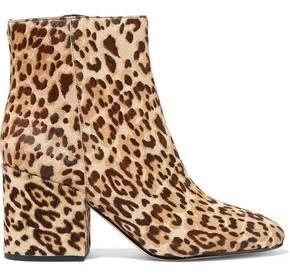 Sam Edelman Taye Leopard-Print Calf Hair Ankle Boots