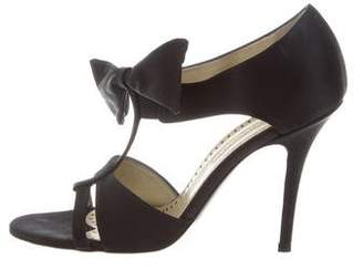 Stella McCartney Satin Bow Sandals