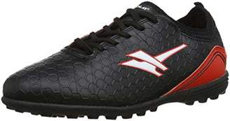 Gola Boys' ABA834 Football Boots, (Black/RED BR), 2 (34 EU)