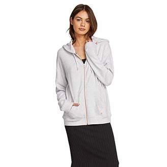 Volcom Junior's Women's Lil Zip up Hooded Fleece