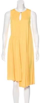 MM6 MAISON MARGIELA MM6 by Maison Martin Margiela Asymmetrical Sleeveless Dress