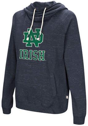 Colosseum Women's Notre Dame Fighting Irish Speckled Fleece Hooded Sweatshirt
