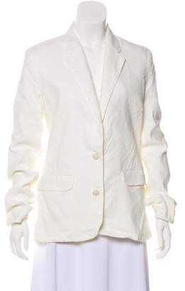 Acne Studios Distressed Button-Up Blazer