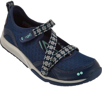 Ryka Adjustable Mesh Mary Jane Sneakers - Kailee