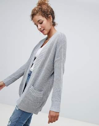Hollister Shaker open knit cardigan