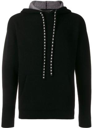 Alanui knitted hoodie