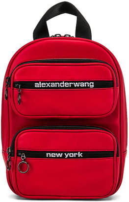 Alexander Wang Attica Soft Medium Backpack in Red | FWRD