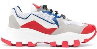Cinzia Araia panelled sneakers