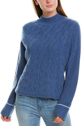 Design History Mock Neck Sweater