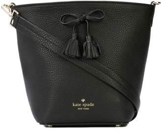 Kate Spade bow-embellished bucket bag