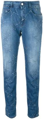Stella McCartney star accent straight-fit jeans
