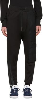 Y-3 Black Soft Lounge Pants $290 thestylecure.com