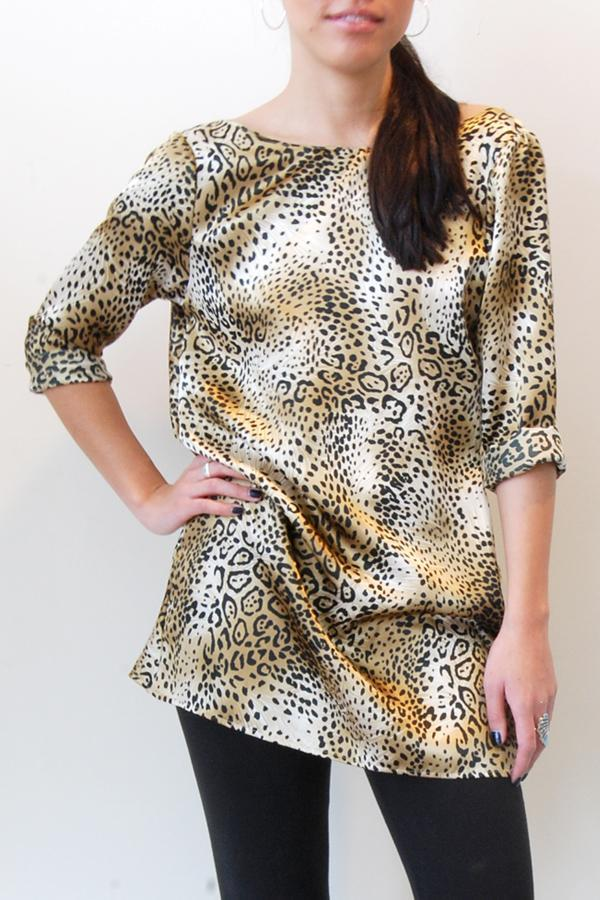Satine - Leopard Print Dress
