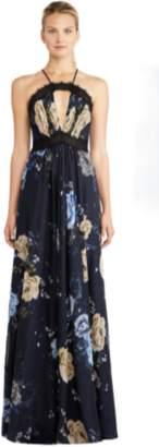 Jill Stuart Rosie Floral Chiffon Gown