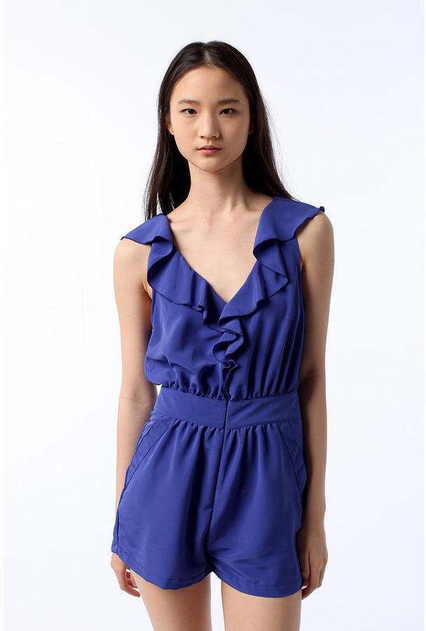Pins and Needles Pleated Romper
