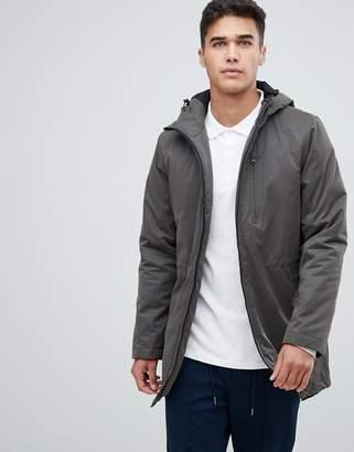 Lindbergh fishtail parka jacket in khaki