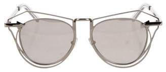 Karen Walker Marguerite Metal Sunglasses