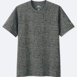 Uniqlo Men's Sprz Ny Graphic T-Shirt (jean-michel Basquiat)
