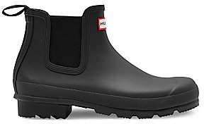 Hunter Men's Waterproof Rubber Chelsea Boots