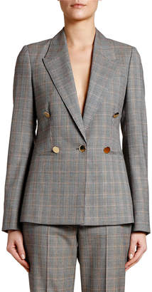 Stella McCartney Golden-Check Blazer