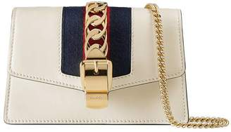Gucci Sylvie leather mini chain bag