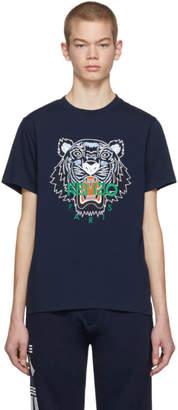 Kenzo Navy Tiger Logo T-Shirt