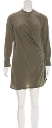 AllSaints Nicola Silk-Blend Dress
