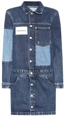 Calvin Klein Jeans Patchwork denim dress