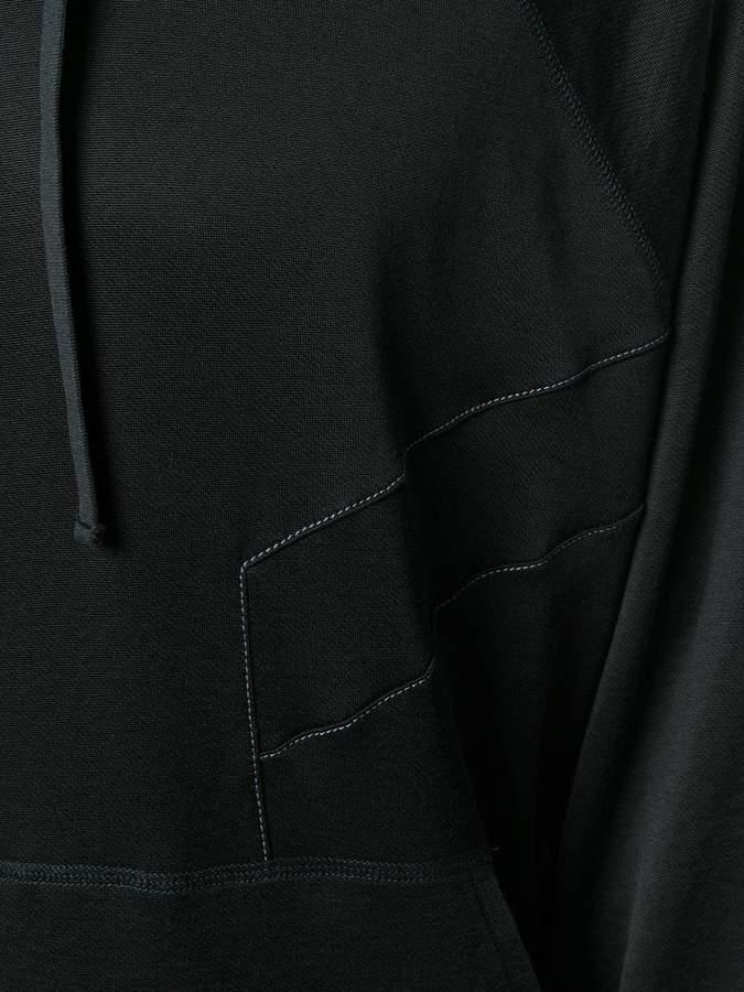 Lanvin signature printed hoodie