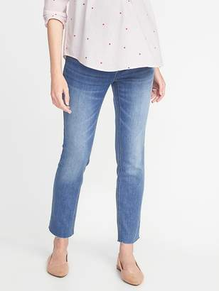 Old Navy Maternity Premium Full Panel The Power Jean a.k.a. The Perfect Straight