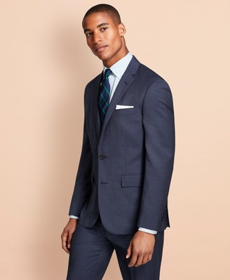 Brooks Brothers Pin-Dot Wool Suit Jacket