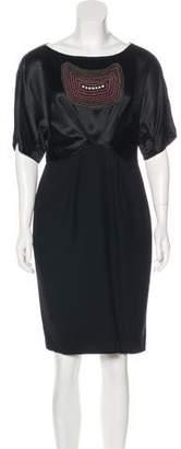 3.1 Phillip Lim Embellished Knee-Length Dress