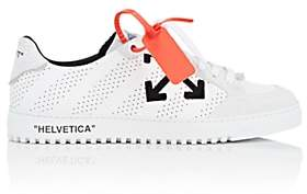 Off-White Off - White c/o Virgil Abloh Men's 2.0 Leather & Suede Sneakers - White