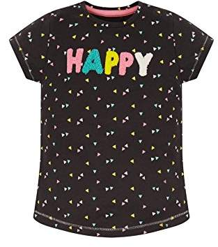 Mothercare Girl's Be Nice T-Shirt,(Manufacturer Size: 104 cms)