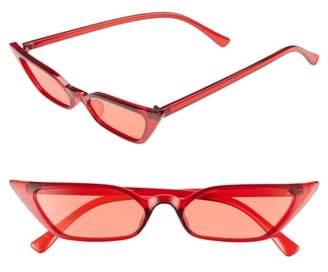 BP 50mm Mini Cat Eye Sunglasses