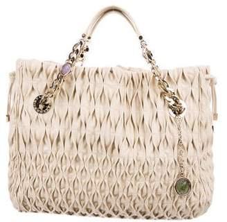 Bvlgari Monete Quilted Bag