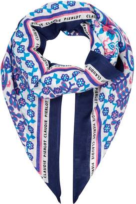 Claudie Pierlot Patterned Square Scarf